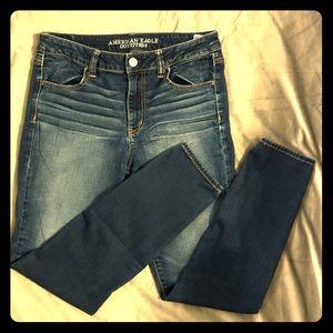 AE High Rise Super Stretch Skinny Jeans